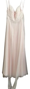 BHLDN Blush Tulle Tinsley Style #40844565 Formal Bridesmaid/Mob Dress Size 4 (S)
