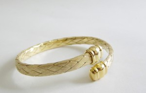Veronese Collection Veronese Collection Etruscan Braided Coil Bracelet size 7.5