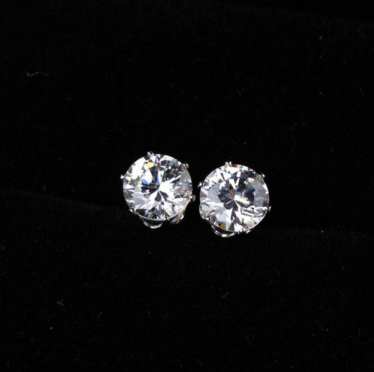Clear Stud Crystal Stud Cubic Zirconia Bridesmaid Stud Cz Post Earrings