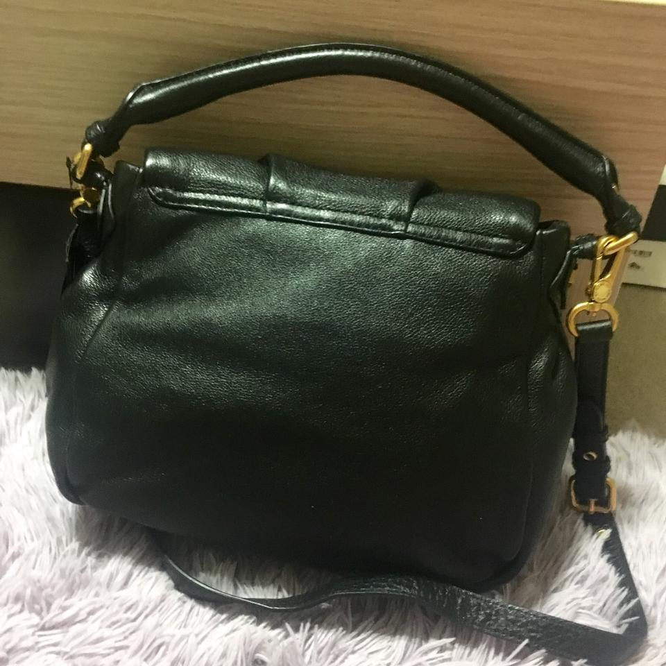 69557fab1a Marc by Marc Jacobs Shoulder New Classic Q Lil Ukita Black Leather Hobo Bag  - Tradesy