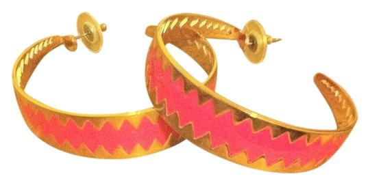 Preload https://item5.tradesy.com/images/jcrew-goldhot-pink-and-hoop-earrings-2229964-0-0.jpg?width=440&height=440