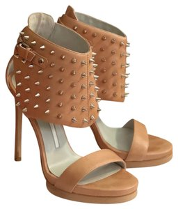 Camilla Skovgaard tan leather Platforms