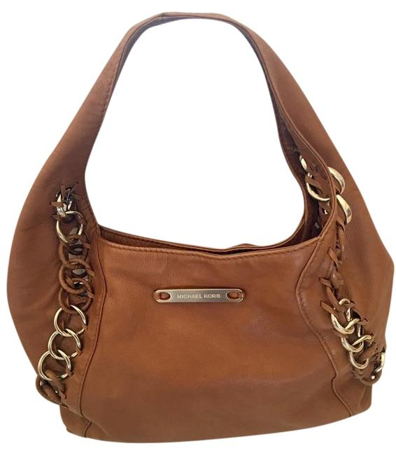 Item - Hobo Chains High End Brown Leather Shoulder Bag