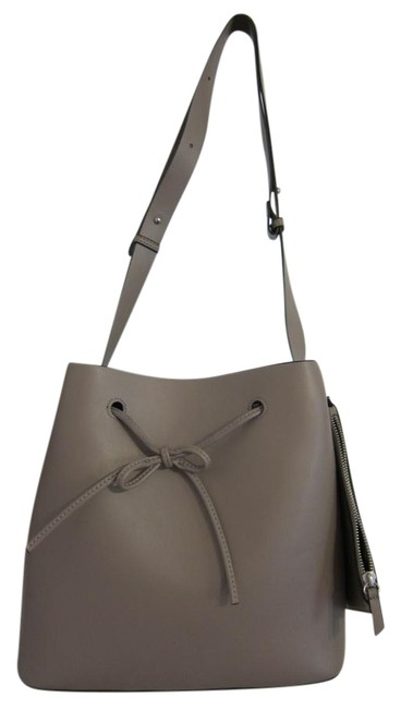 Item - Bucket Stella Soft Taupe Vegan Leather Shoulder Bag