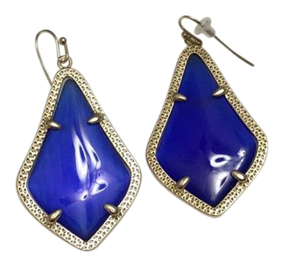 cobalt loren products haven hope tumbleweed hex earrings in