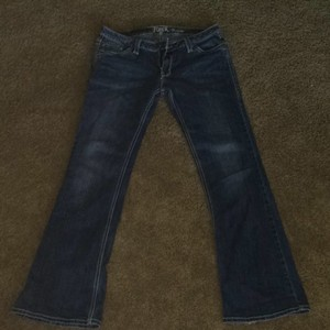 Wrangler Boot Cut Jeans-Medium Wash