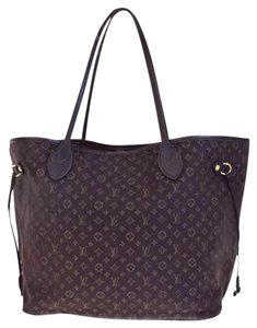 Louis Vuitton Neverfull Ebene Damier Idylle Tote in Fusian
