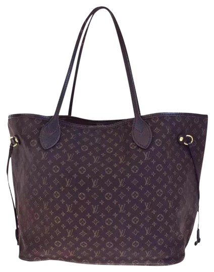 Louis Vuitton Neverfull Ebene Damier Idylle Tote in Fusian Image 0