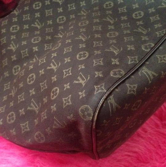 Louis Vuitton Neverfull Ebene Damier Idylle Tote in Fusian Image 6