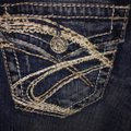 L'academie Distressed Pioneer Boot Cut Jeans Size 28 (4, S) L'academie Distressed Pioneer Boot Cut Jeans Size 28 (4, S) Image 5