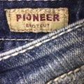 L'academie Distressed Pioneer Boot Cut Jeans Size 28 (4, S) L'academie Distressed Pioneer Boot Cut Jeans Size 28 (4, S) Image 9