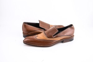 a.testoni Brown * Slip On Loafers Shoes