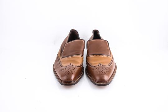 a.testoni Brown * Slip On Loafers Shoes Image 1