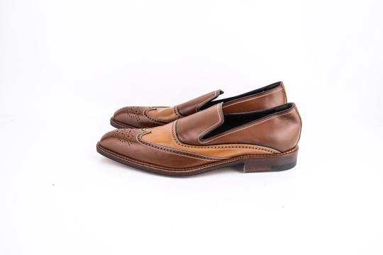 a.testoni Brown * Slip On Loafers Shoes Image 2