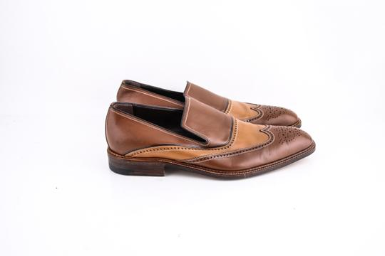 a.testoni Brown * Slip On Loafers Shoes Image 3