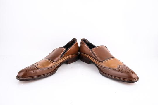 a.testoni Brown * Slip On Loafers Shoes Image 5