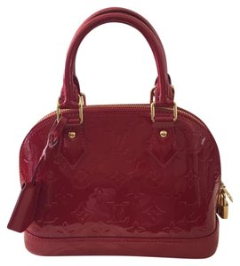 Louis Vuitton Satchel in Cherry Red