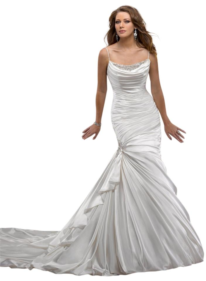 Maggie sottero eve wedding dress on tradesy for Best way to sell used wedding dress