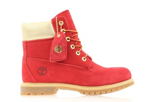 Red Timberland Boots & Booties Up to 90% off at Tradesy