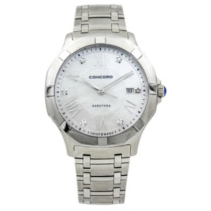 Concord Saratoga 40mm Stainless Steel Watch with Diamond MOP Dial