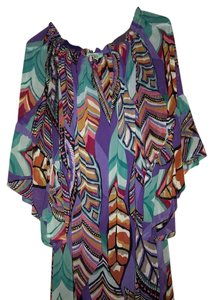 Karlie short dress multi colored on Tradesy