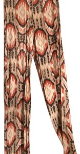 Karlie Wide Leg Pants multi colored Aztec