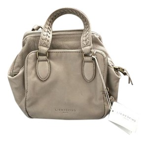 Liebeskind Leather Kayla Small Tote in Grey