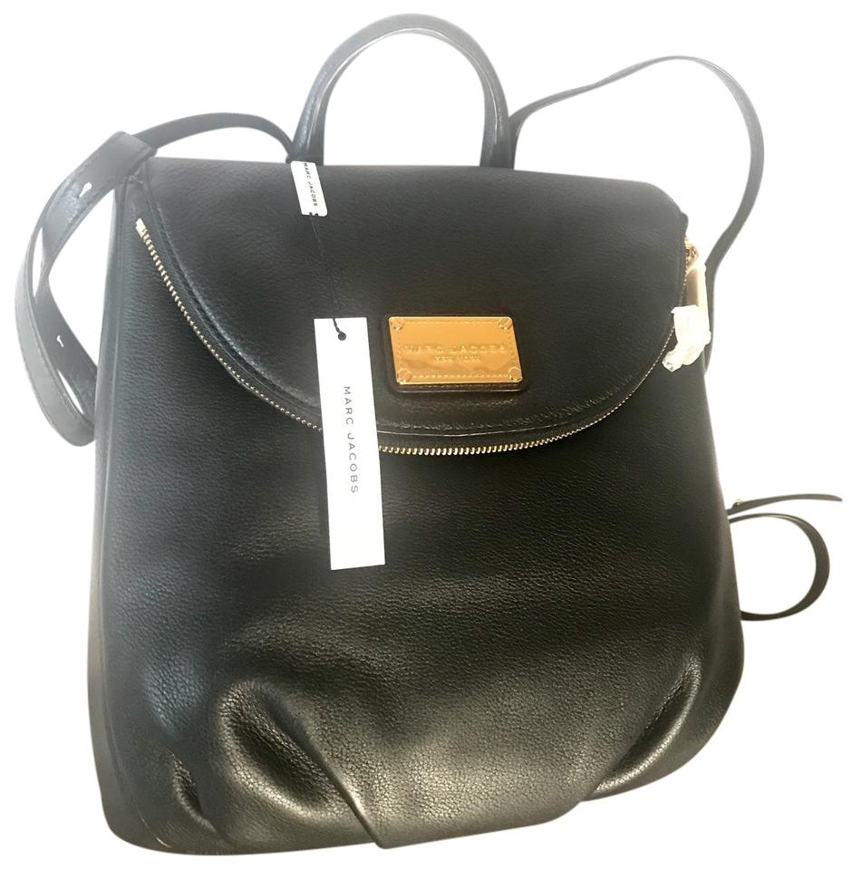 30a0512fe1e Marc Jacobs Classic Q Mariska. with Tags. Black Leather Backpack ...