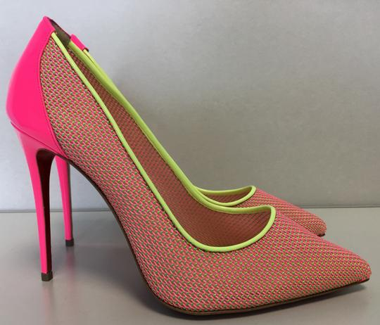 Christian Louboutin Pigalle Follies Heels Point Toe Pink Pumps Image 4
