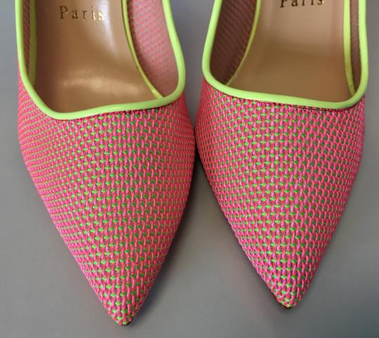 Christian Louboutin Pigalle Follies Heels Point Toe Pink Pumps Image 6