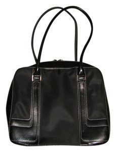 Preload https://item1.tradesy.com/images/the-limited-black-clothleather-trim-satchel-2230195-0-0.jpg?width=440&height=440