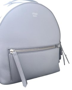 Fendi Leather Crystal Backpack
