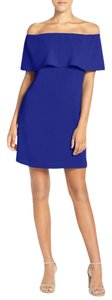Charles Henry short dress Royal Blue on Tradesy