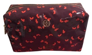 Tory Burch Tory Burch Butterfly Tribe Violet Dinah Cosmetic Bag
