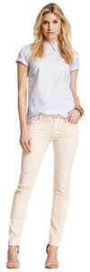 7 For All Mankind Distressed Destroyed Skinny Jeans-Distressed