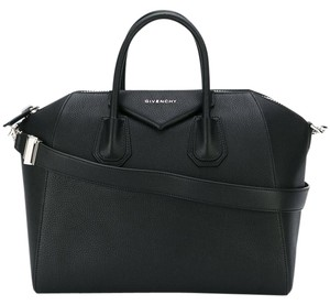 Givenchy Antigona Satchel Tote in Black