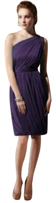 Dessy Purple Social Bridesmaids 8117...cocktail Dress...concord...sz Short Night Out Dress Size 6 (S) Dessy Purple Social Bridesmaids 8117...cocktail Dress...concord...sz Short Night Out Dress Size 6 (S) Image 1