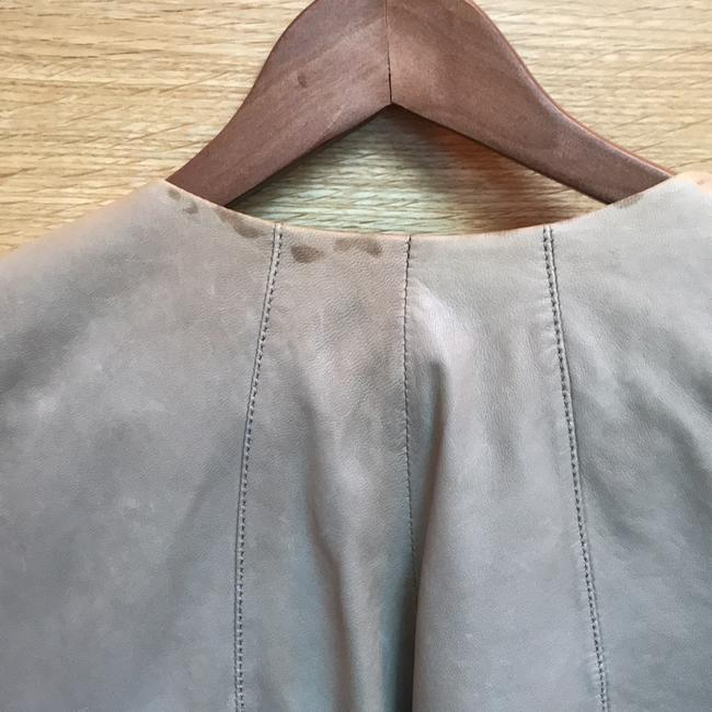 Joie Taupe Leather Jacket Image 8