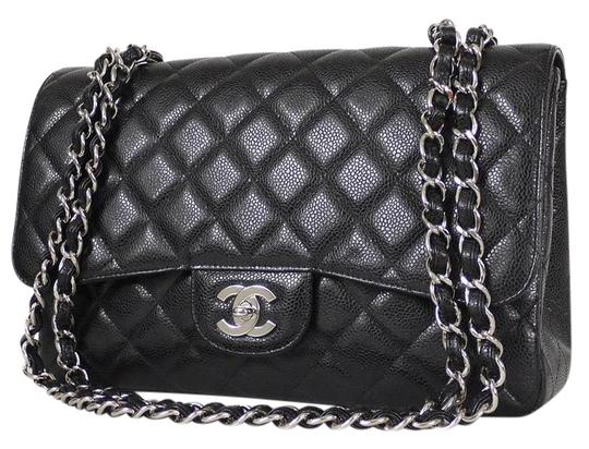 b4d58bb714c9 Chanel Classic 2.55 Black Caviar Bag | Stanford Center for ...