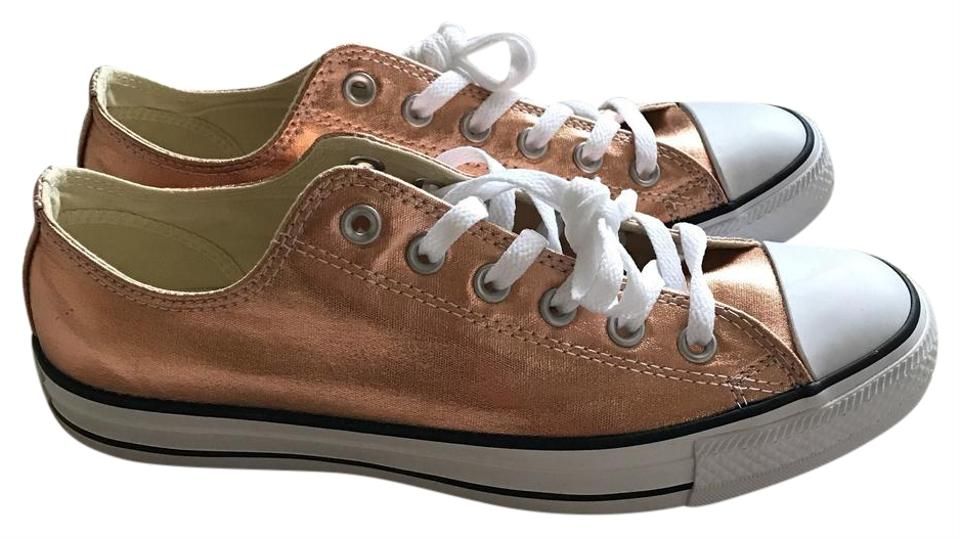 Converse Rose Gold Metallic Chuck Taylor All Star Women s Sneakers ... fa061e0fce
