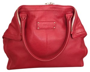 Alexander McQueen Satchel in red