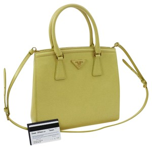 5792f808f06d Yellow Prada Shoulder Bags - Over 70% off at Tradesy