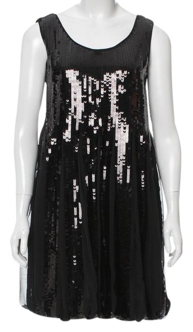 Preload https://img-static.tradesy.com/item/22303745/see-by-chloe-black-silk-sequined-mini-m-new-short-cocktail-dress-size-8-m-0-1-650-650.jpg