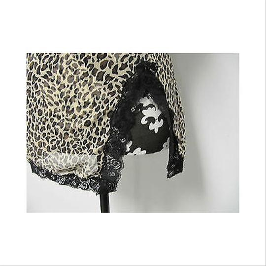 43ddb4139efb3 low-cost Rampage Womens Leopard Print Babydoll Camise Bra Top Nightgown