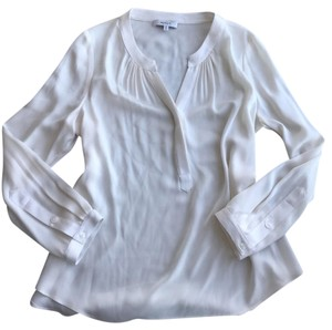 MILLY Top Ivory