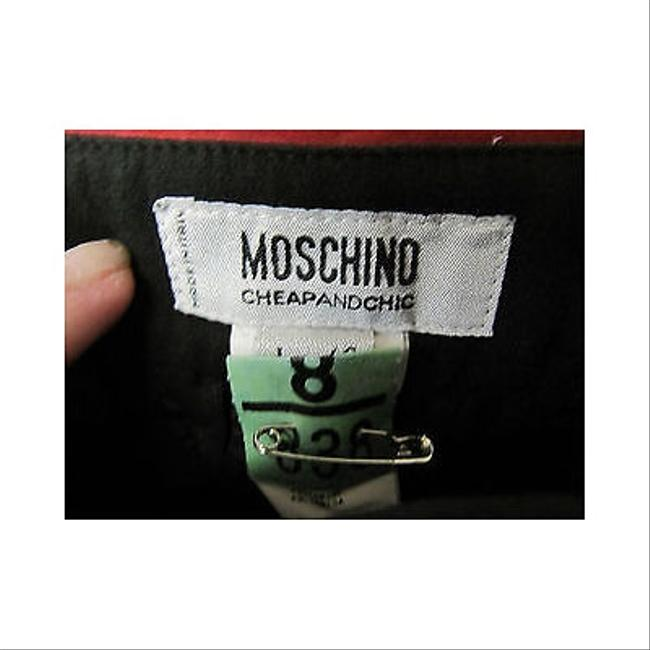 Moschino Womens With Floral Embroidery Skirt Blacks