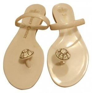 Juicy Couture white Sandals
