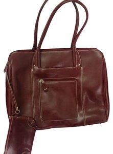Franklin Covey Tote in Burgandy