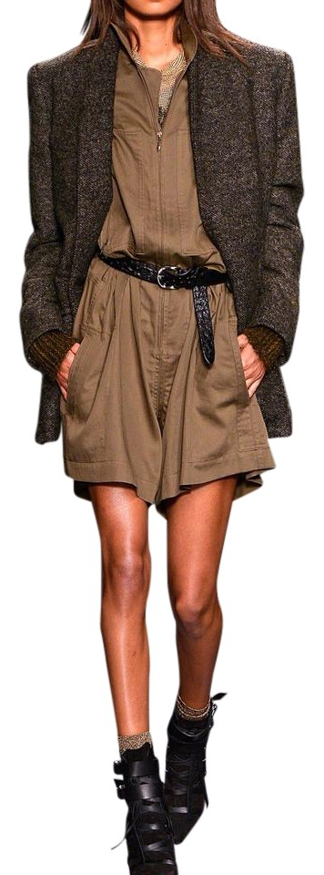 b15d1d763fe6 Isabel Marant Light Brown New W  Tag 2014 Fall Runway Military ...