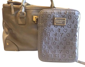 Marc by Marc Jacobs Satchel in gray